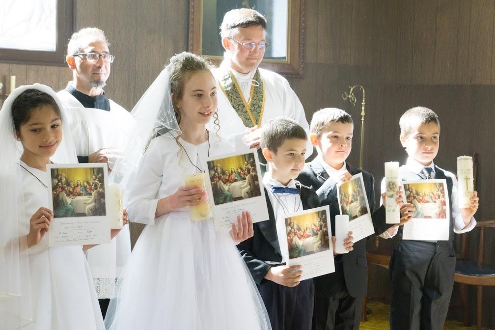 And Bernard's 1st Communion