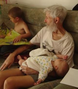 Elizabeth and Granddad
